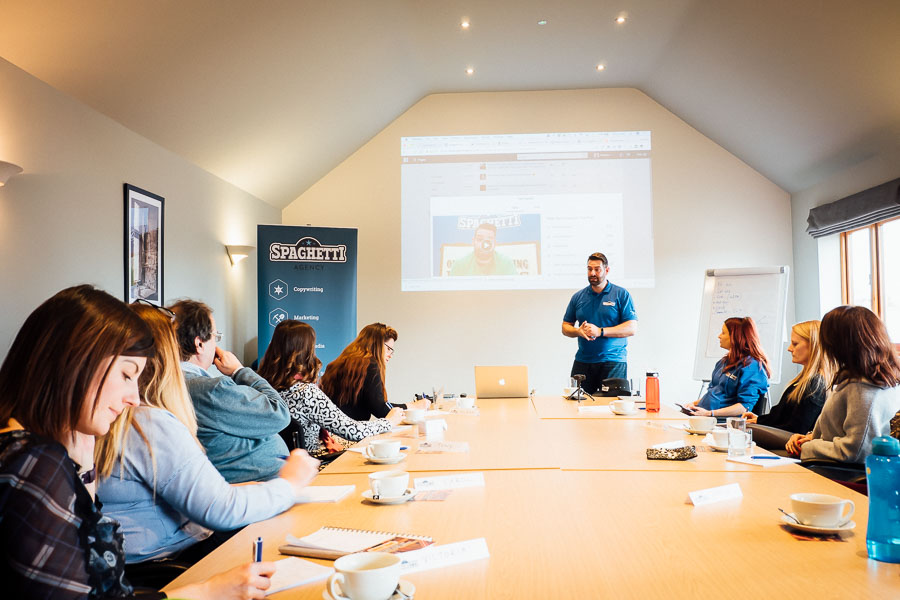 Digital marketing workshop in Warwickshire