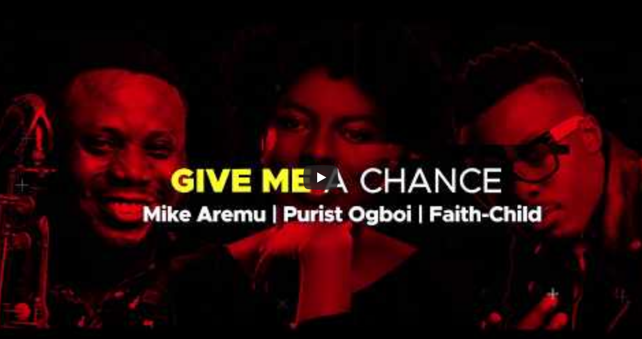 Artists at 'Give Me a Chance' Concert