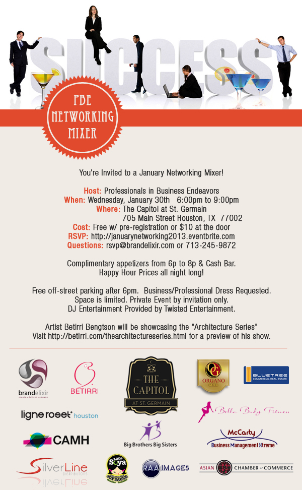 January Networking Mixer 2013