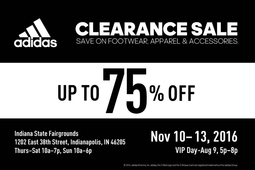 adidas tent sale indiana