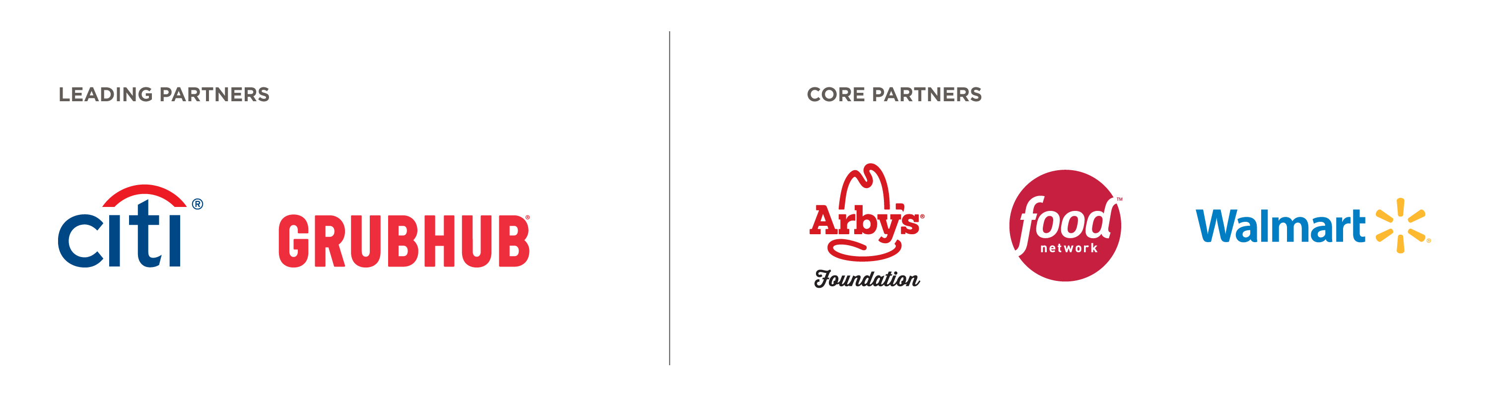 Leading and Core Partner Logos