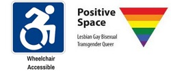 accessible & positive space