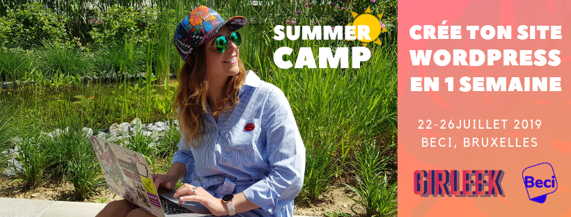 Girleek Summer Camp : Wordpress