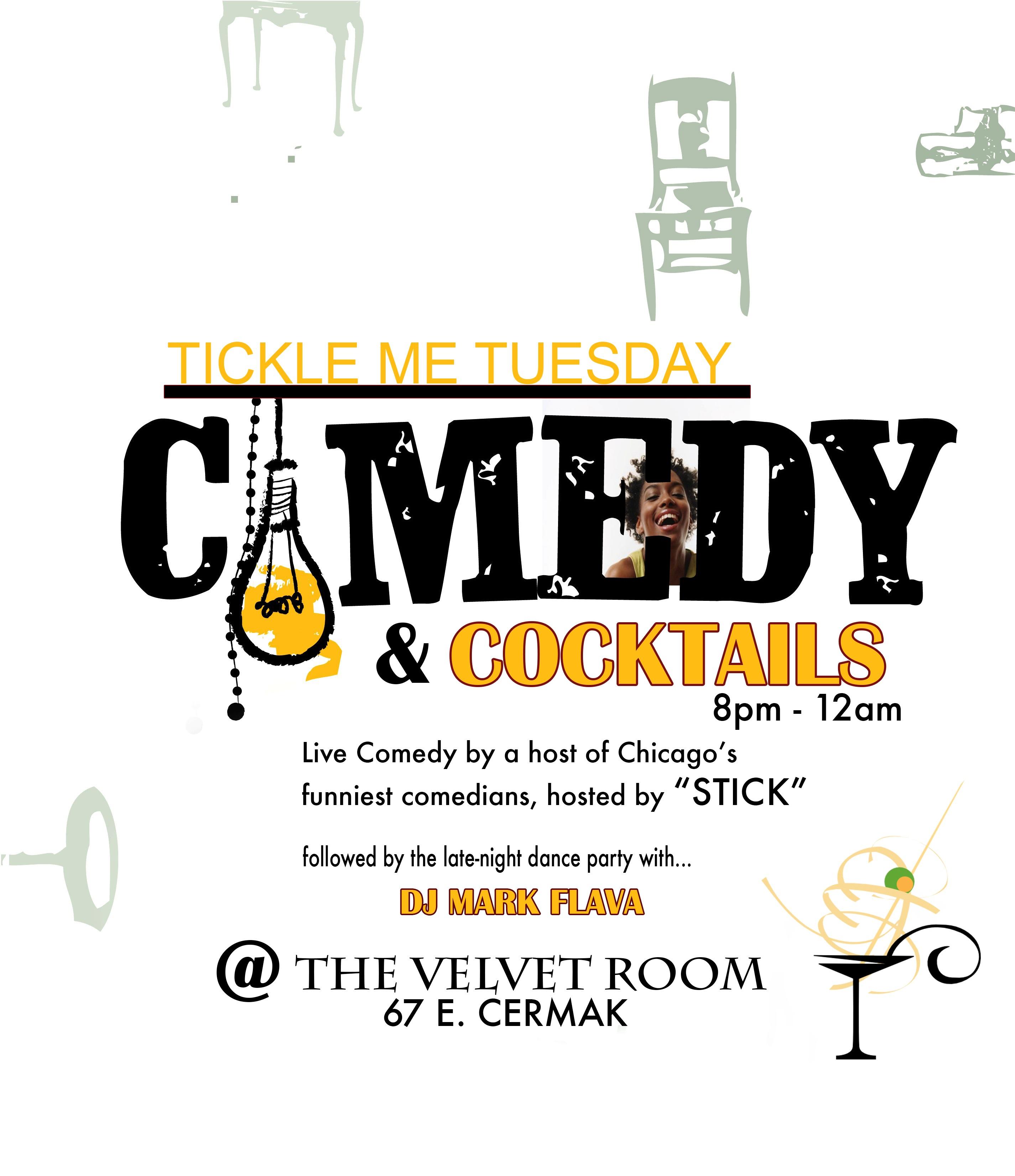 Comedy Tuesday at Velvet