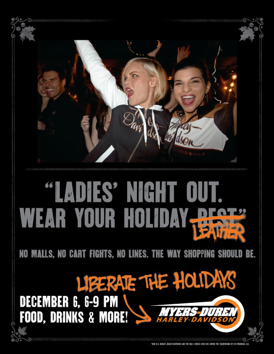 Ladies' Night Out at Myers-Duren Harley-Davidson