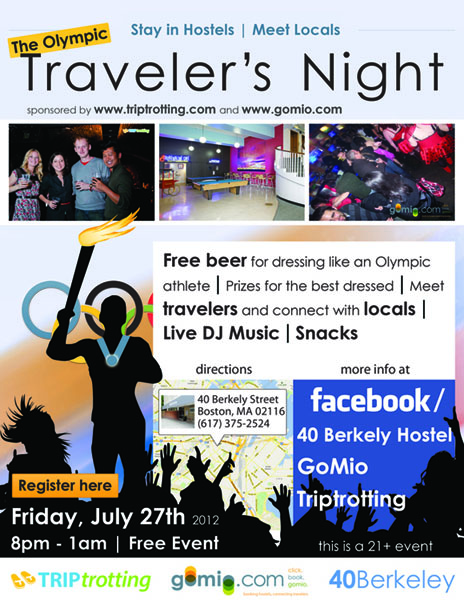 Traveler's Night flyer