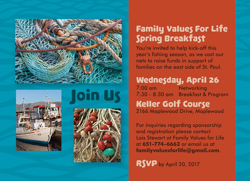 Casting our Nets, Saving our Community 1st Annual Fundraising Breakfast