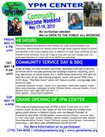 YPM Center Community Welcome Weekend