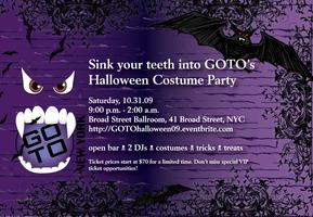 GOTO's 9th Annual Halloween Costume Party