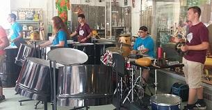 Steel Drummers