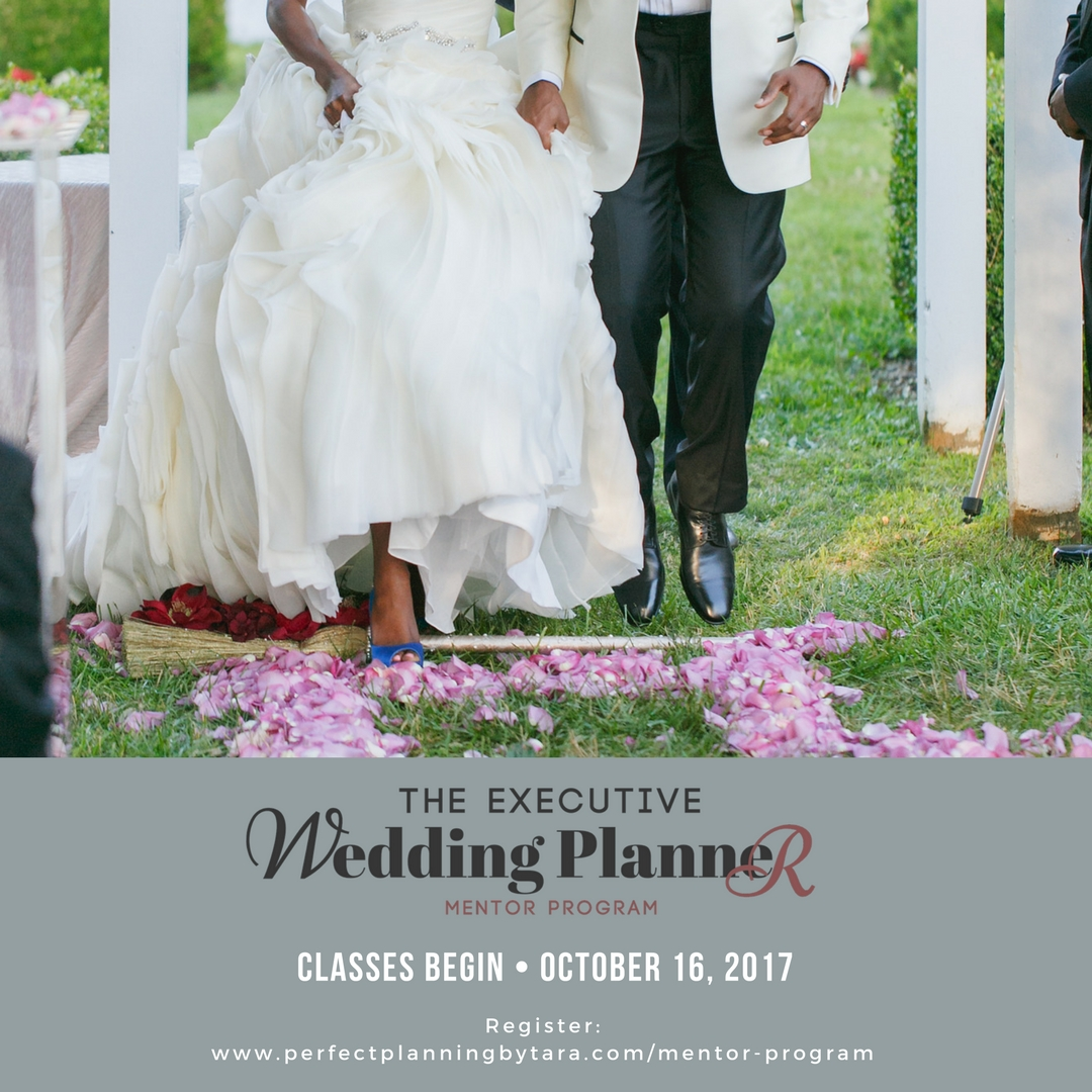 Wedding Planner Mentorship Program