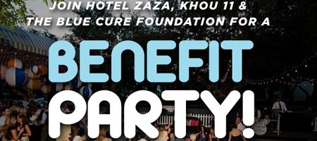 Benefit Party and Fundraiser Celebrating Men's Health Month!