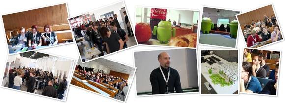DevFest Vienna collage from 2012