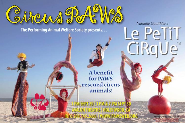 Circus PAWS - September 29-30, 2012