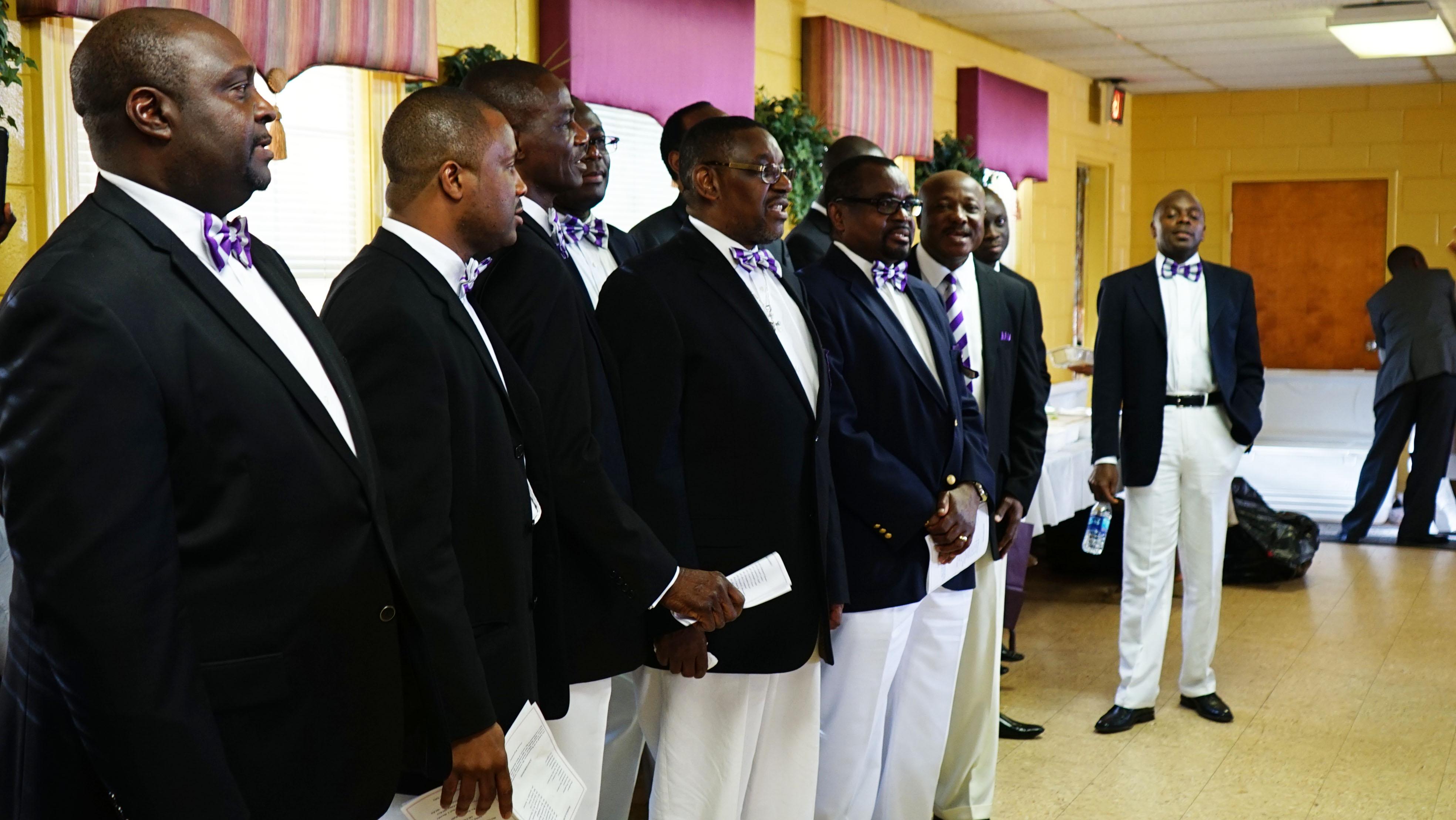 Regentonians Singing the School Song