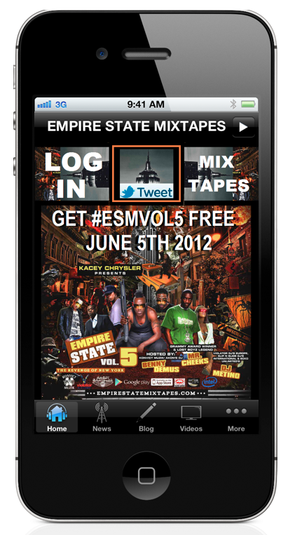 #ESMVOL5 app