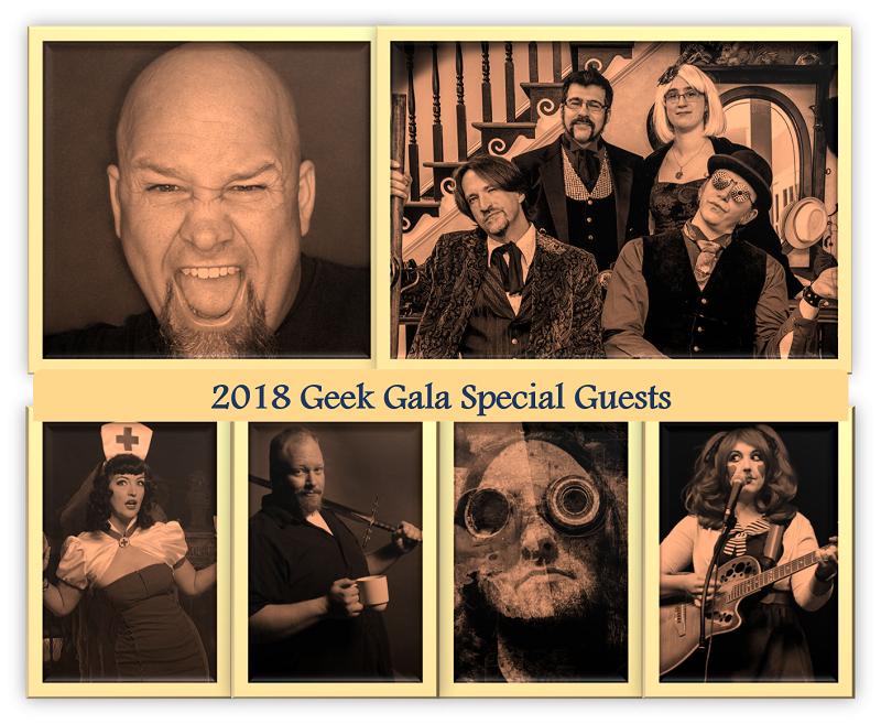 2018 Geek Gala Special Guests