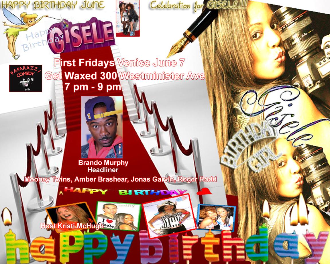 First Fridays Birthday Bash Paparazzi Comedy