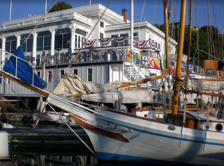 Wooden Boats at Corinthian Yacht Club