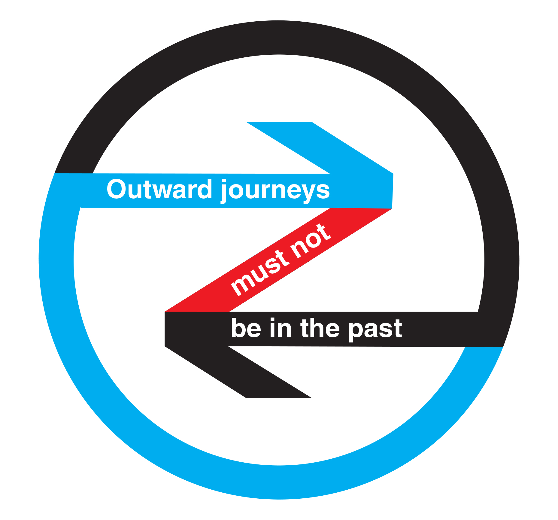 Outward journeys must not be in the past