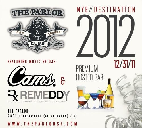 THE PARLOR NYE 2012