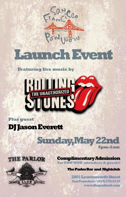 rolling stones flyer