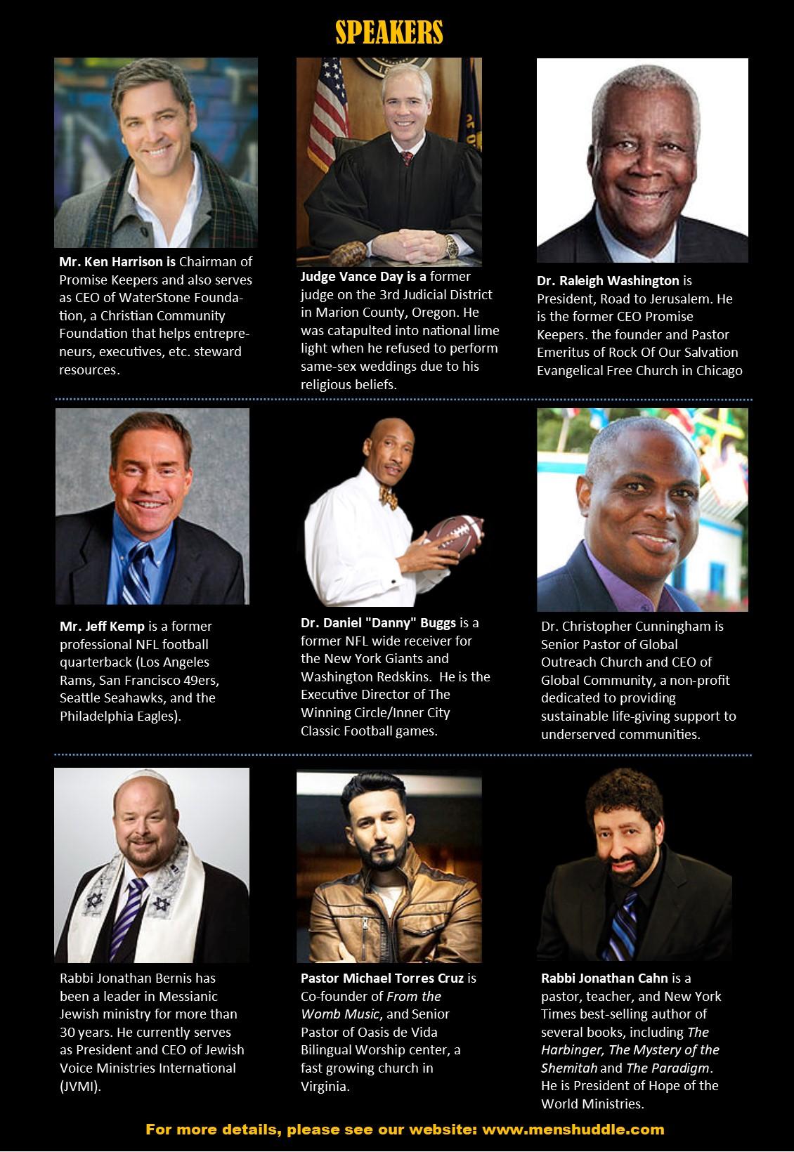 Prayer Revolution Speakers