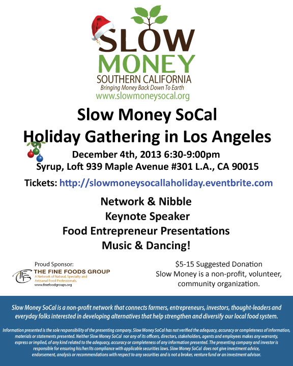 Slow Money Flyer