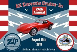 24th Annual Cruise-In Logo / Event Date August 10, 2013