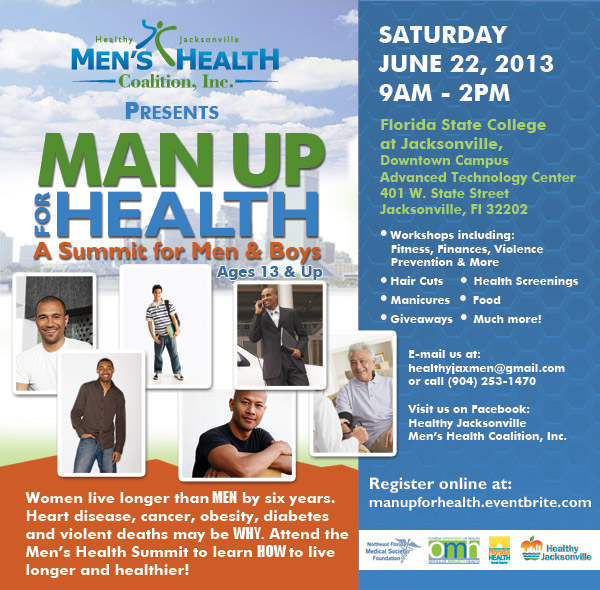 Man Up for Health Information