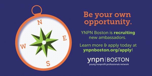 YNPN Boston is recruiting new ambassadors
