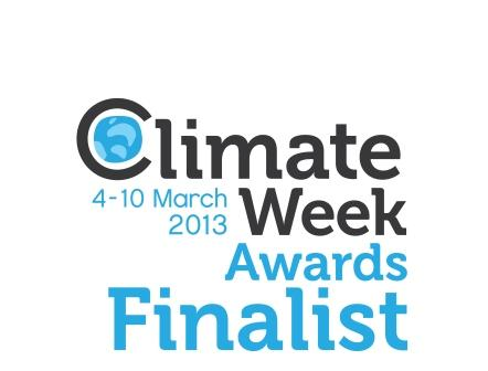 Climate Week 2013 Awards finalist