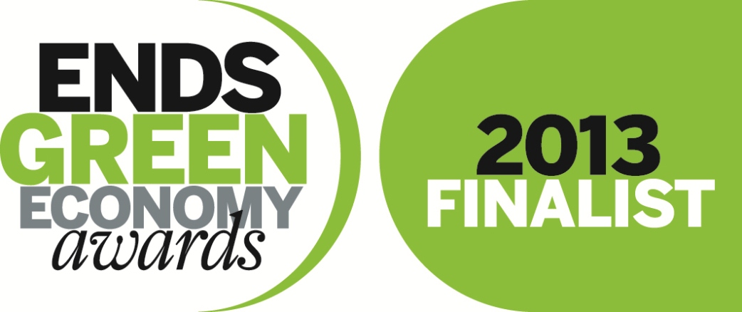 Green Economy Awards 2013 finalist