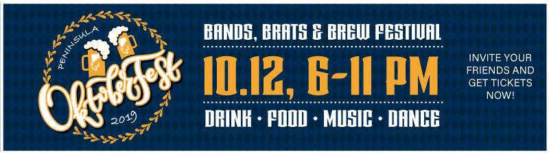 Brats, Brews, and Bands, The Peninsula Oktoberfest
