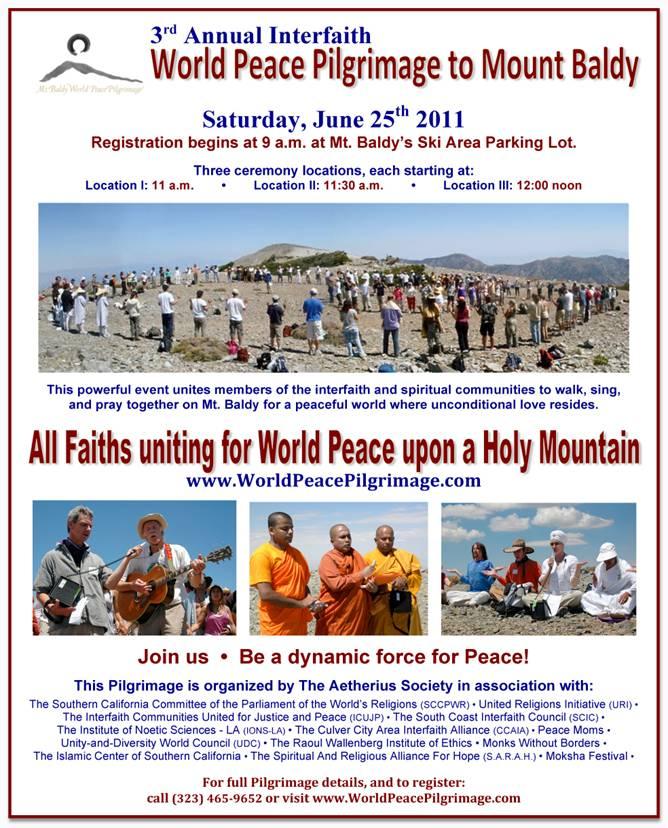 World Peace Pilgrimage to Mt. Baldy