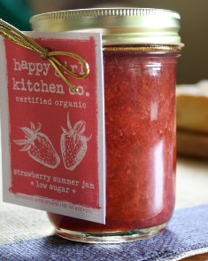 strawberry jam from Happy Girl