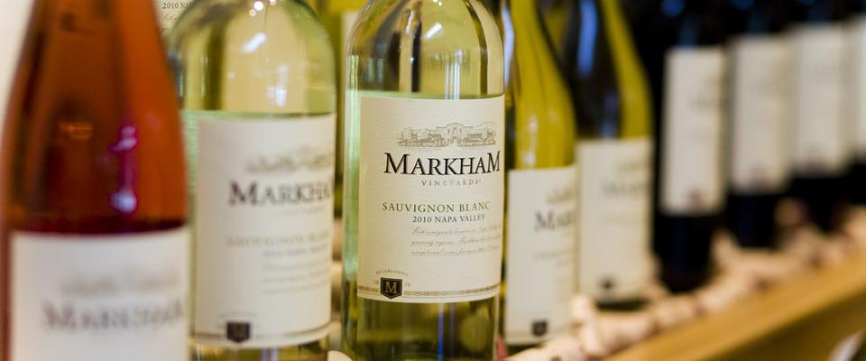 Markham Wine Bottles