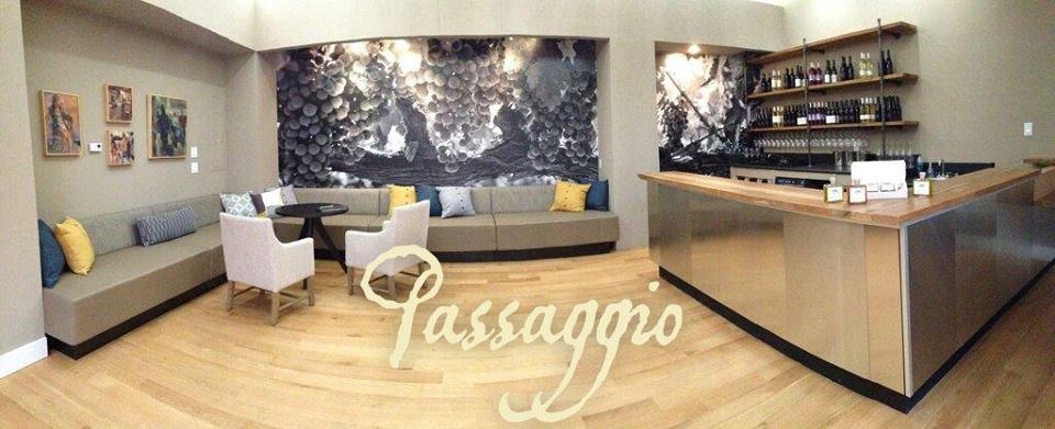 Passaggio Wines tasting room