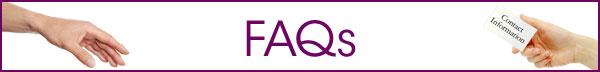 FAQs banner image