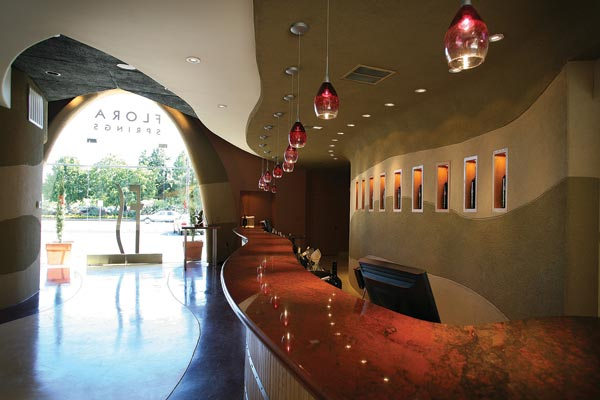 Flora Springs tasting room