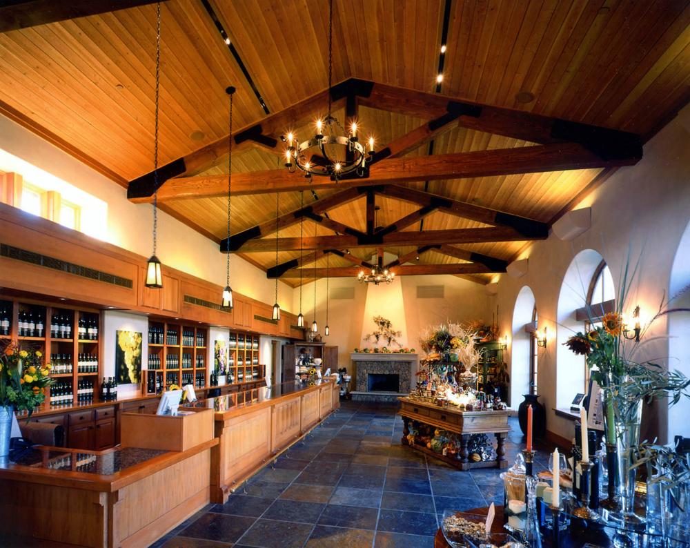 St. Francis Winery main tasting room