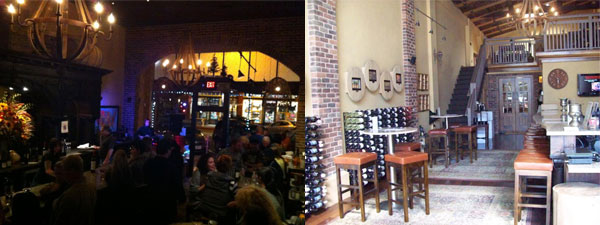 Night and day at Cellars of Sonoma