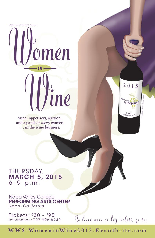 Women in Wine poster