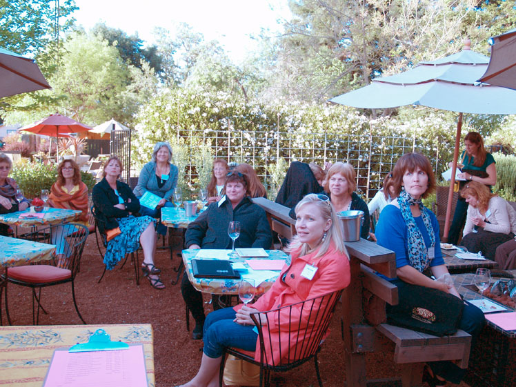 Rose Event at Sonomas Best April 2013