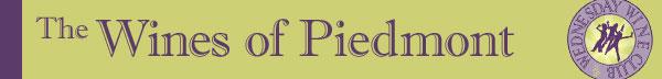 The Wines of Piedmont header banner