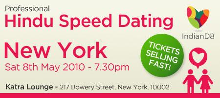 Professional Hindu Speed Dating Event - NYC