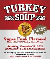 TURKEY SOUP Food Drive at Wokcano