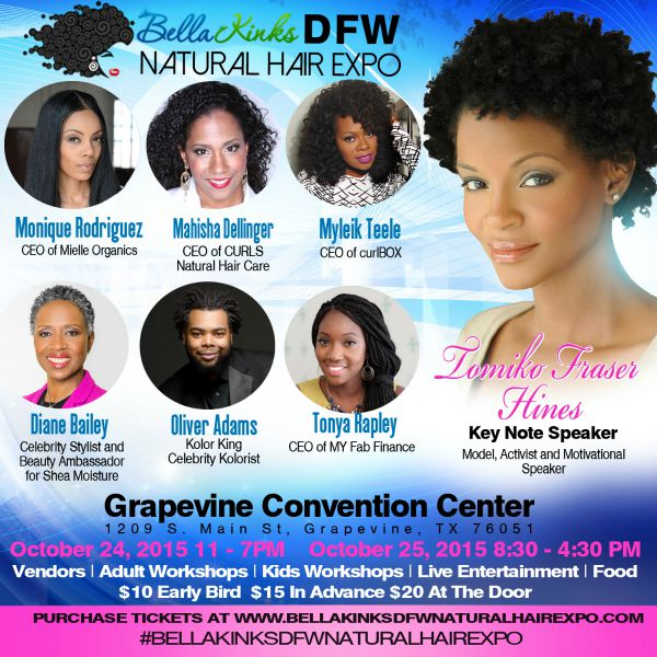 Bella Kinks DFW Natural Hair Expo