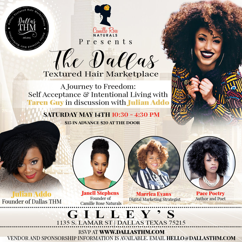 Camille Rose Naturals Presents Dallas Textured Hair Marketplace