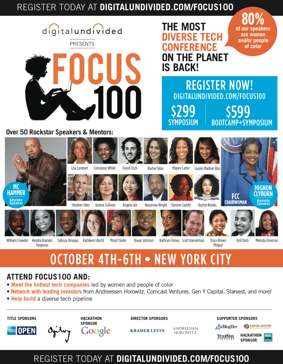 FOCUS100 Black women tech conference